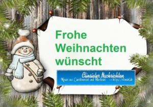 Frohe Weihnachten Wann Wünscht Man.Frohe Weihnachten Clinsieler Nachrichten
