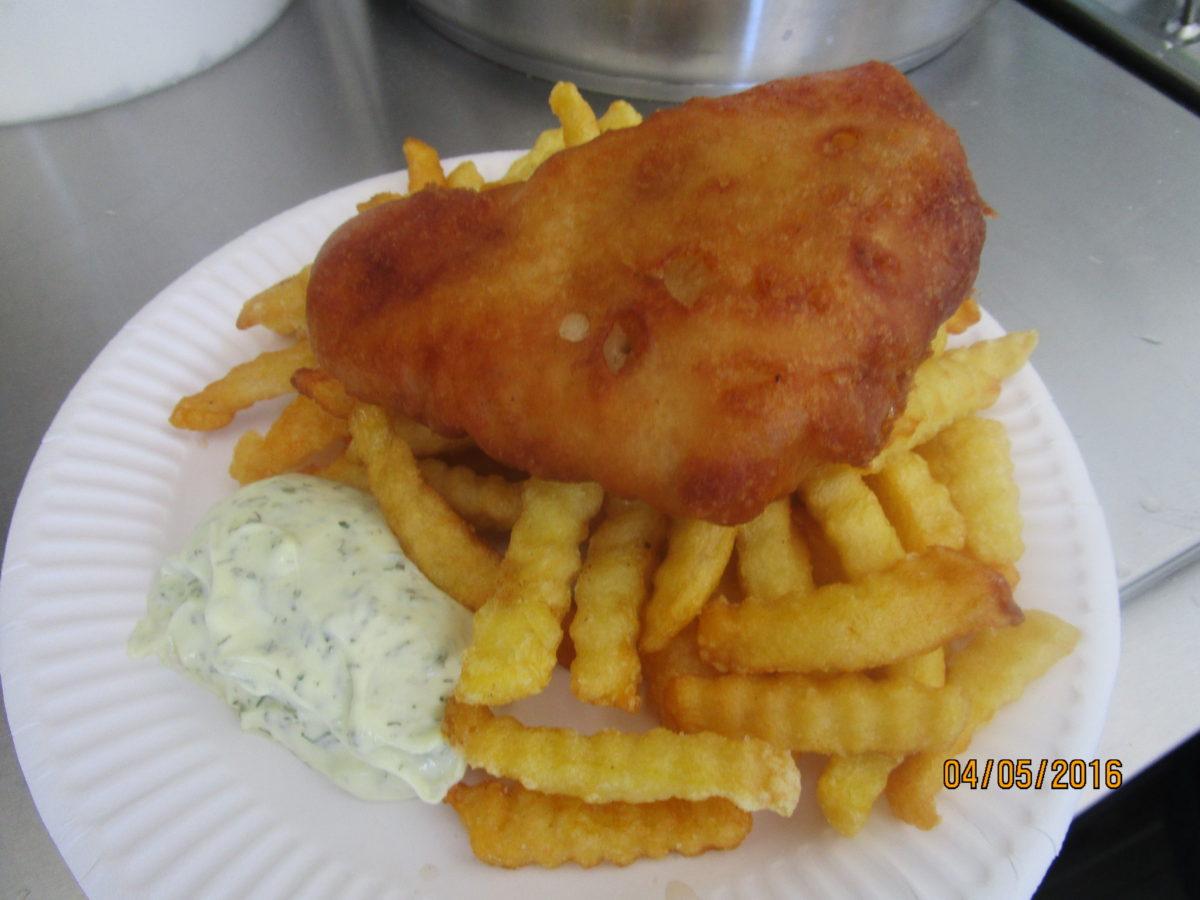 Foto: Ady  | frisch zubereitet  & serviert (Backfisch)
