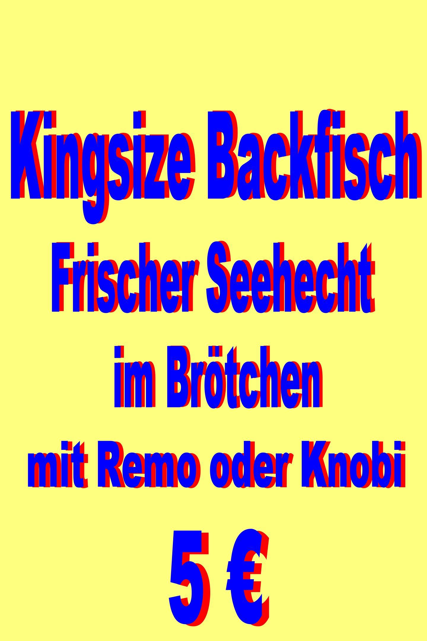 Kingsize Backfisch