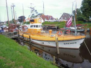 Versuchskreuzer Bremen Foto: G. Ziemann
