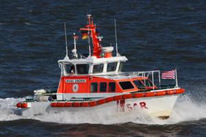 Foto: DGzRS – Die Seenotretter, Stephan Mühr Seenotrettungsboot WILMA SIKORSKI der Deutschen Gesellschaft zur Rettung Schiffbrüchiger (DGzRS)