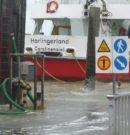 Hochwasser – Fähren fallen aus