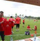 Fußballcamp beim TSV Jahn zu Gast